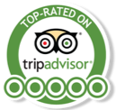 5 Star Ratings on TripAdvisor