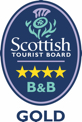 Rated 4 Stars by Scottish Tourist Board